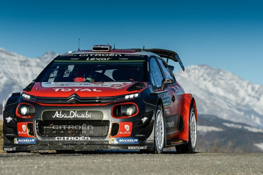 Citroën C3 WRC returns to the Monte Carlo Rally
