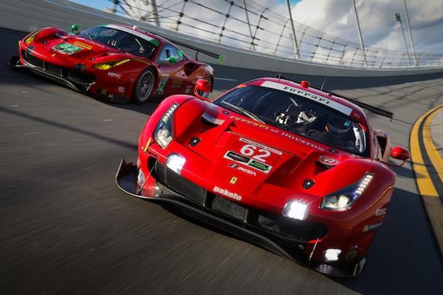 2 cars and a stellar driver lineup for Risi Competizione at Rolex 24
