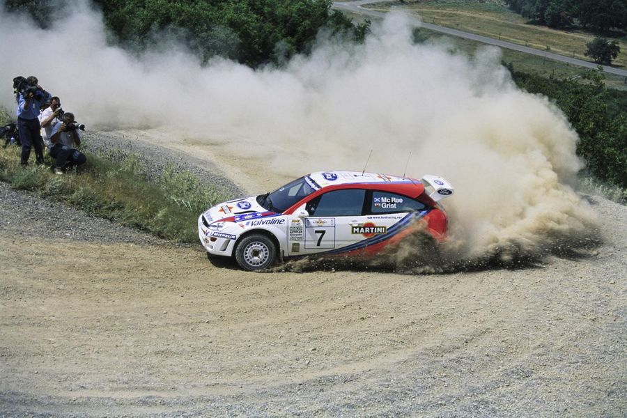 Ford Focus WRC driven by rally legend Colin McRae goes under the hammer