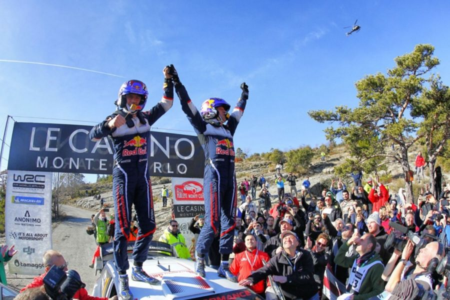 Ogier makes perfect start to season with Monte Carlo win