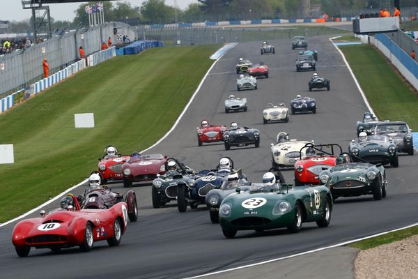 Suberb grid line-up confirmed for Donington Historic Festival