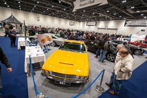 Record numbers of car clubs to exhibit at London Classic Car Show