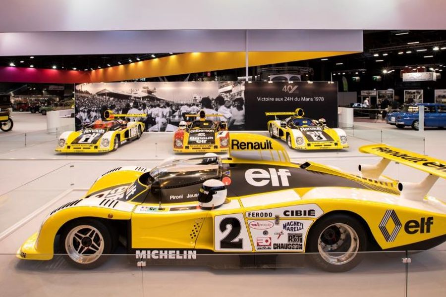 Alpine marks 40th Anniversary of Le Mans triumph at Rétromobile Paris