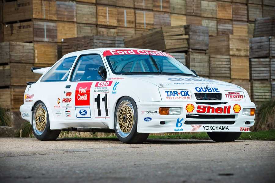 1990 Ford Sierra Cosworth RS500 BTCC 'Group A' winner offered for auction