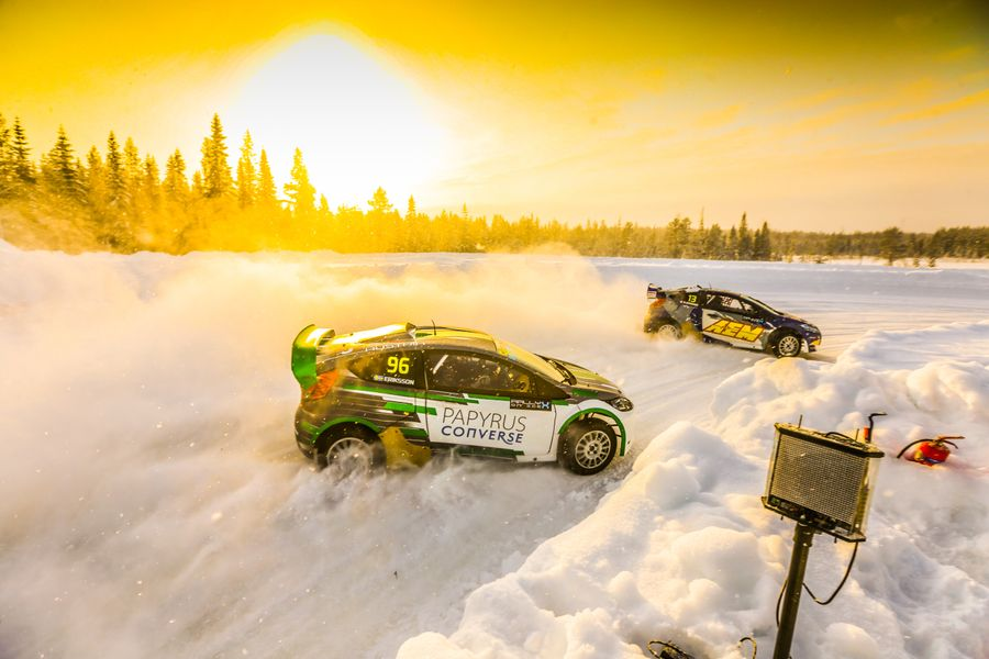 Olsbergs 'Super Six' set for Swedish snow fight at Höljes RX