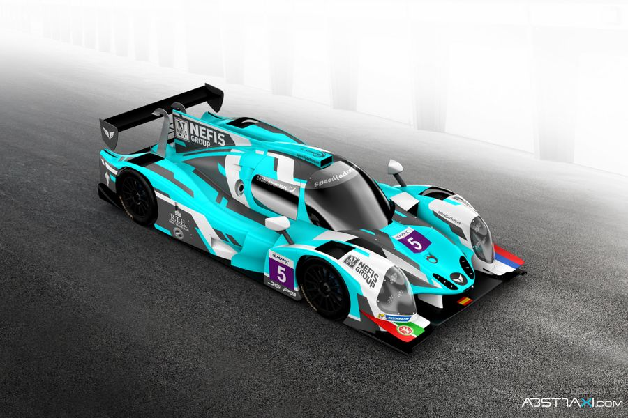 By Speed Factory, 3rd-placed LMP3 in 2015 ELMS, returns for 4th season