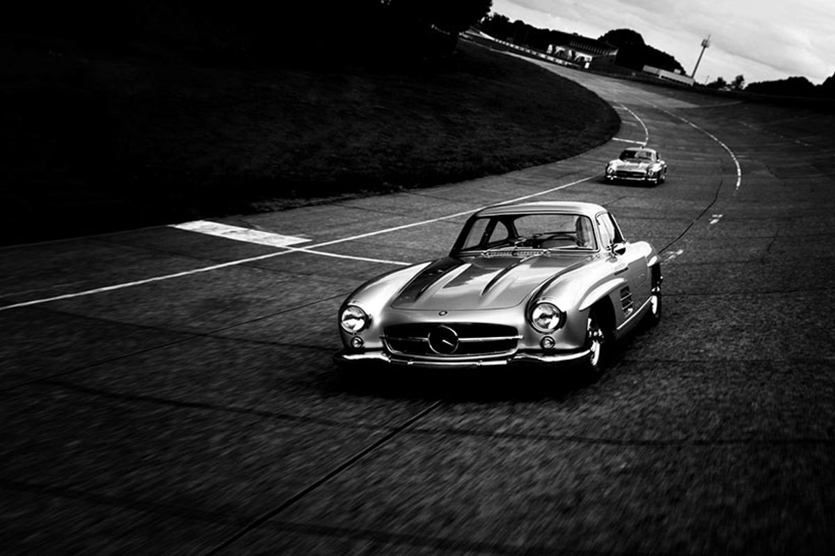 Mercedes Benz 300 SL Gullwing dealer - Classic Sport Leicht - new web site by Racecar