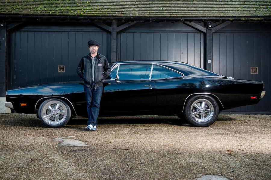 Bruce Willis & Jay Kay owned Dodge Charger for sale at Silverstone Auctions Race Retro