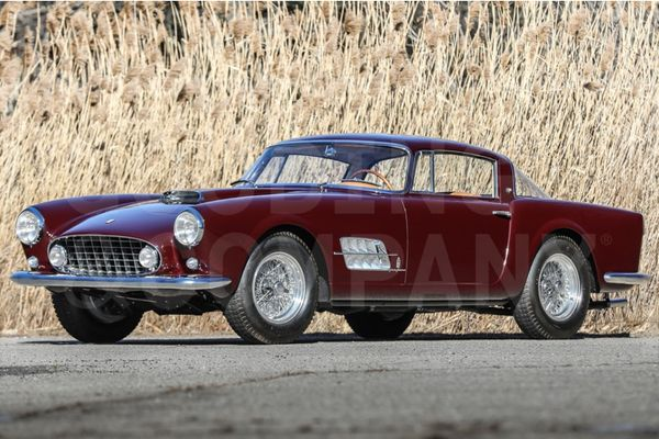 1956 Ferrari 410 Superamerica Series I Coupe To Cross The Block At Amelia Island