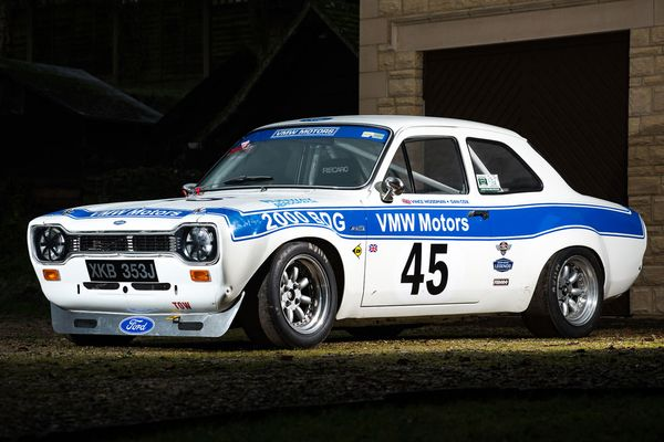 Race Retro: 1970 Ford Escort Mk.I RS1600 FIA race car still available, results
