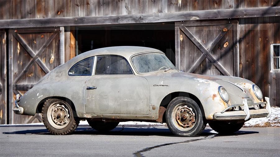1957 Porsche 356 A 1500 GS Carrera Coupe at Gooding\u0027s Amelia