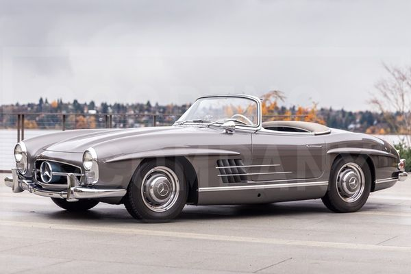 1958 Mercedes-Benz 300 SL Roadster at Amelia Island