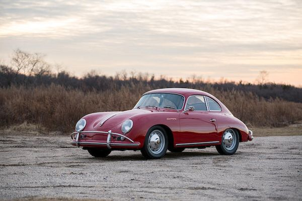 1959 Porsche 356A 1600 Carrera GS Coupe Sold for US$632,000 at Bonhams Amelia Island, results