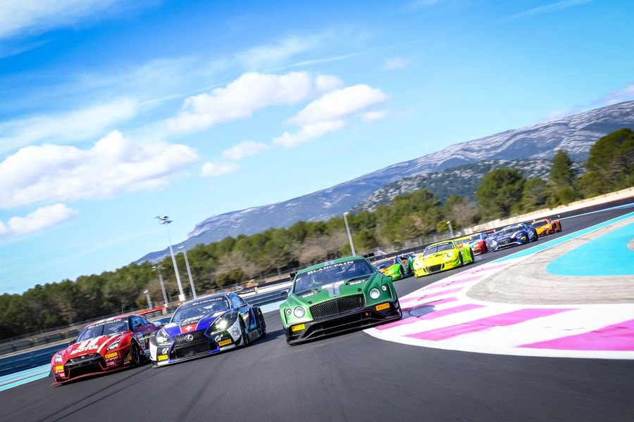 Blancpain GT announces entry list with 50 cars representing 11 manufacturers
