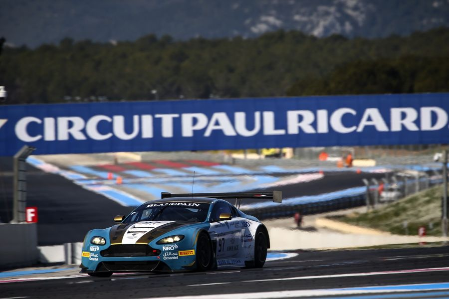 Blancpain Pro-Am champ Al Harthy happy with opening test at Paul Ricard