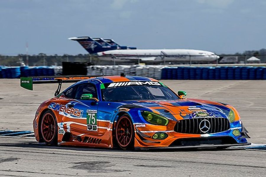 Mercedes-AMG GT3 Look to Defend Last Year's 12 Hours of Sebring Victory