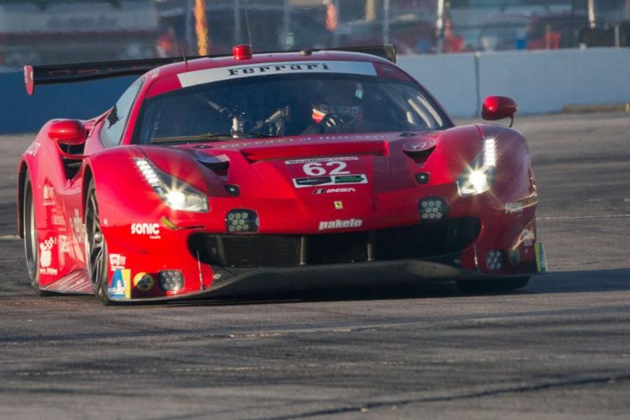 Risi Competizione Qualifies On Front Row in GTLM Class for 12 Hours of Sebring