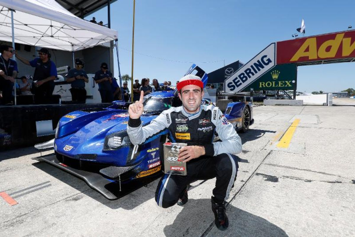 Vautier Drives Cadillac DPi.V.R to Pole For Mobil 1 Twelve Hours of Sebring