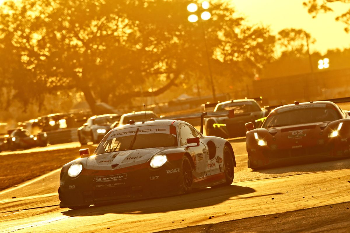 GTLM Victory and third place for Porsche at 12 Hours of Sebring