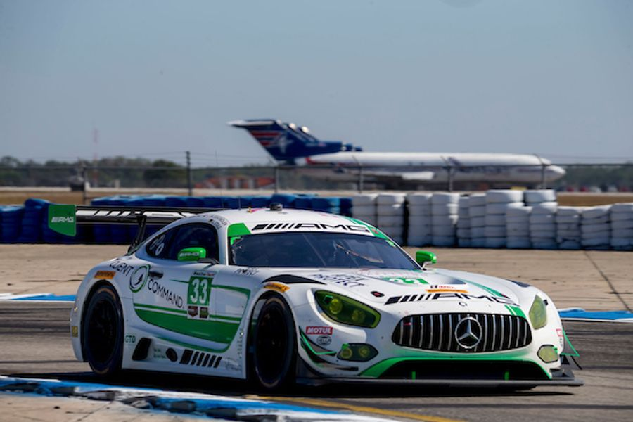 Riley Motorsports Mercedes-AMG GT3 Finishes 3rd in GTD in 12 Hours of Sebring