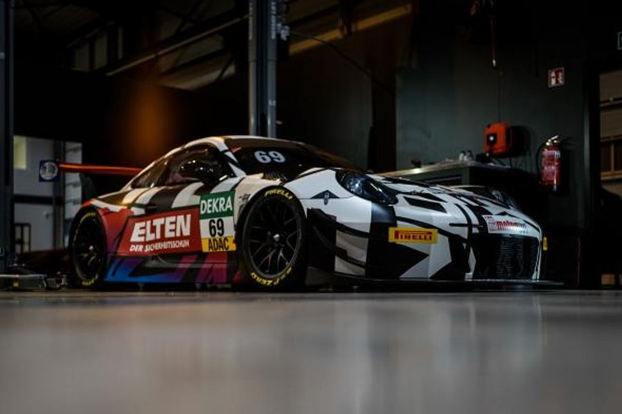 IronForce by RING POLICE all set for the ADAC GT Masters