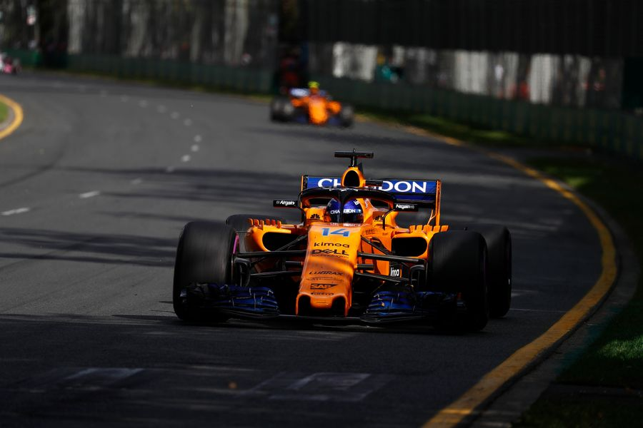 Double points start to the season for McLaren