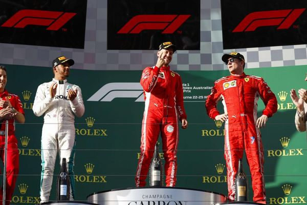 Australian Grand Prix Winners' Conference