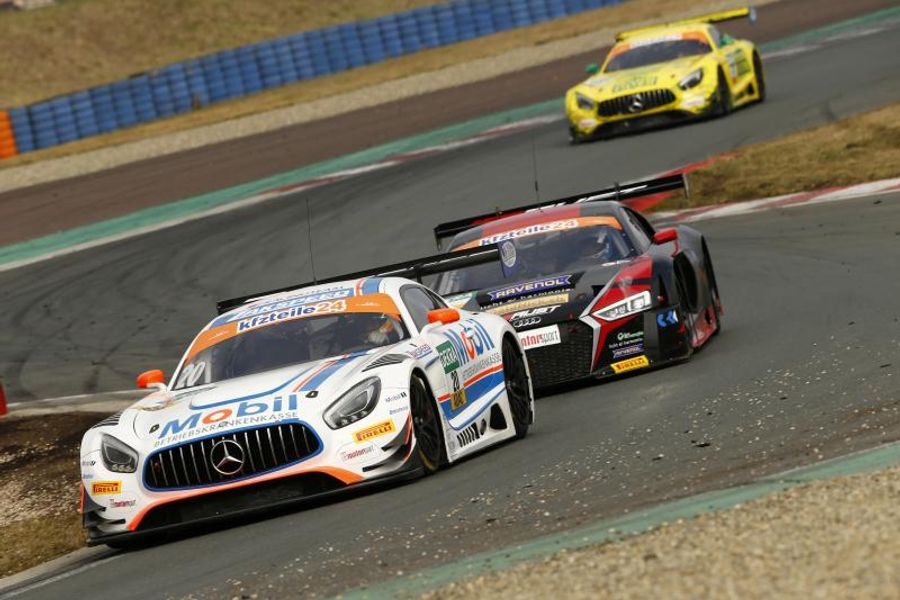 Mercedes-AMG ahead in ADAC GT Masters curtain-raiser