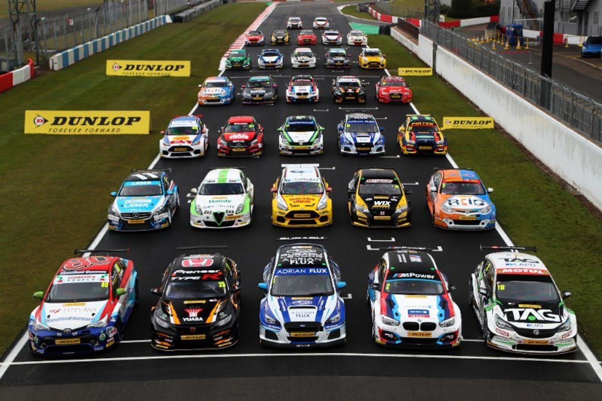 Record 17 race-winners confirmed in capacity BTCC line-up