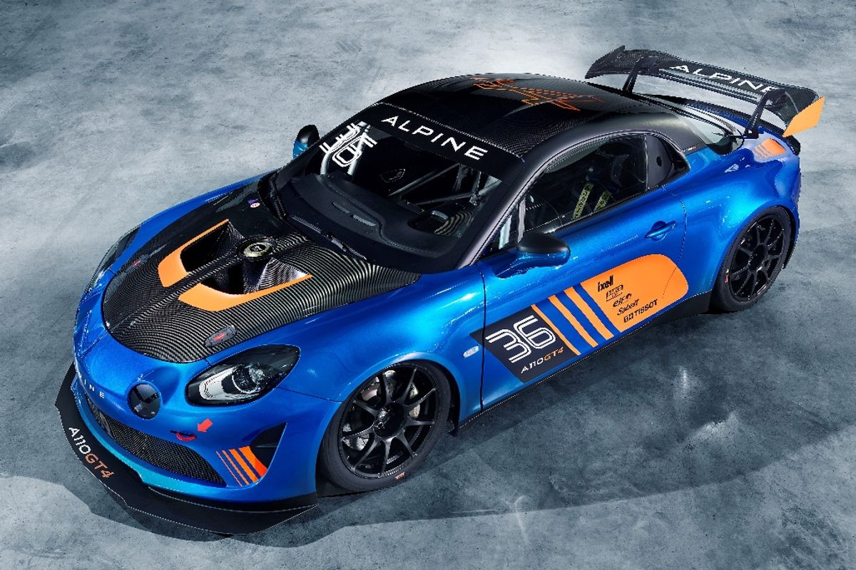 Competition debut scheduled for the Alpine A110 GT4