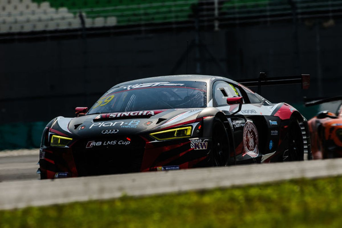 Audi R8 LMS wins GT Asia Series opener