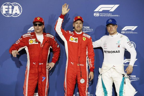 Bahrain Grand Prix Qualifying Conference