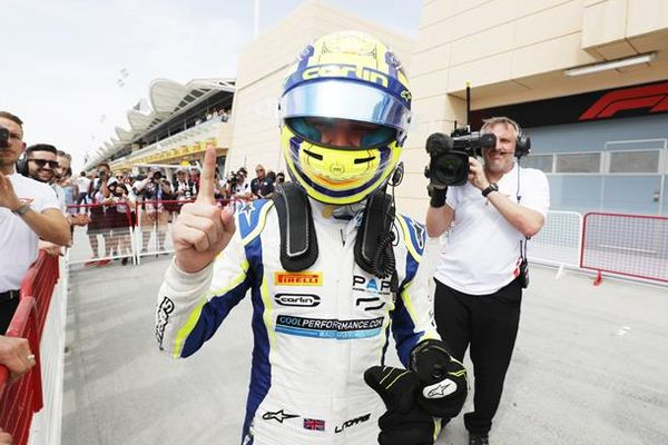 Norris breezes to maiden victory in Bahrain F2 feature race