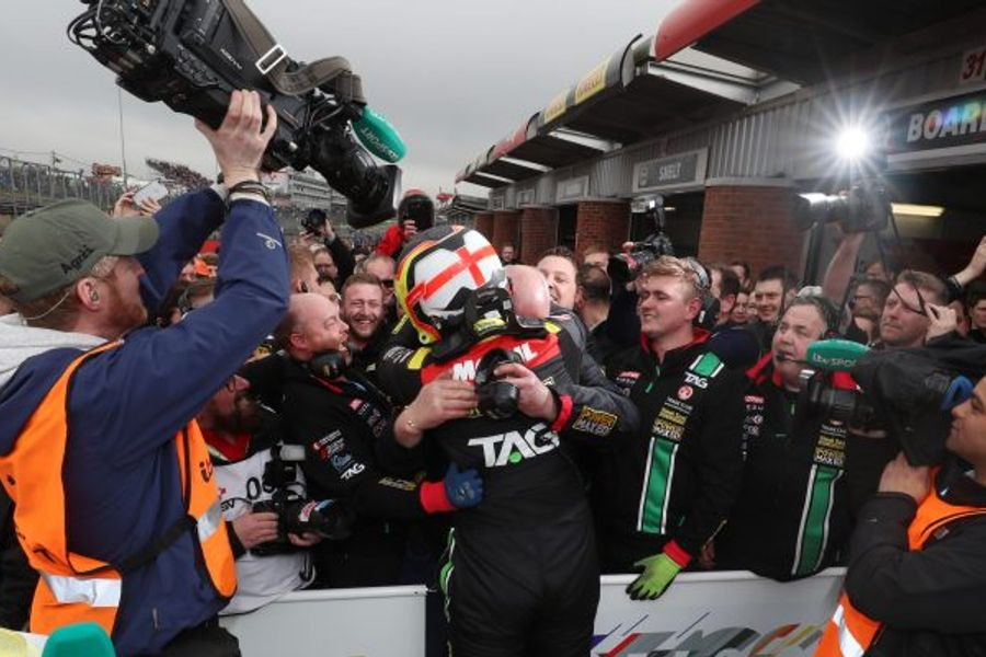 Power Maxed TAG Racing's Senna Proctor scores maiden BTCC victory
