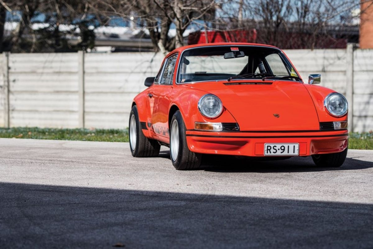 1973 Porsche 911 Carrera RS 2.7 Lightweight: Rare machines for road, track at Sotheby's Monaco Sale