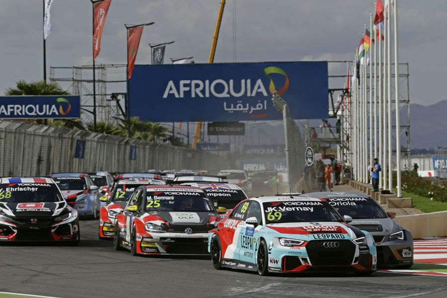 Debut victory of the Audi RS 3 LMS in WTCR Morocco