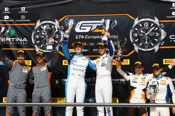Victory For GT4 European Series Debutants Middleton & Tregurtha At Zolde