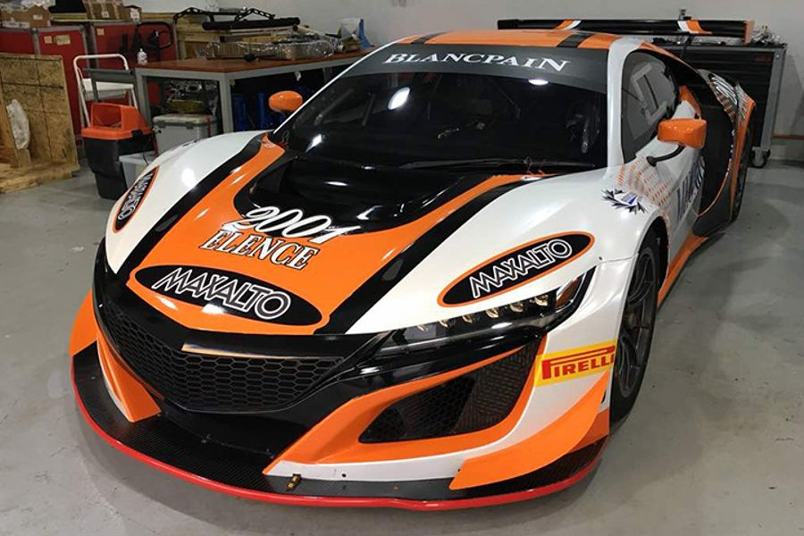 Honda NSX GT3 set for Blancpain GT Series Asia debut with Arrows Racing