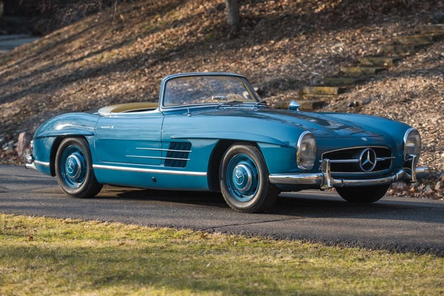 Mercedes Benz 300 Sl Roadster And Gullwing Top Rm Auctions 19 1m
