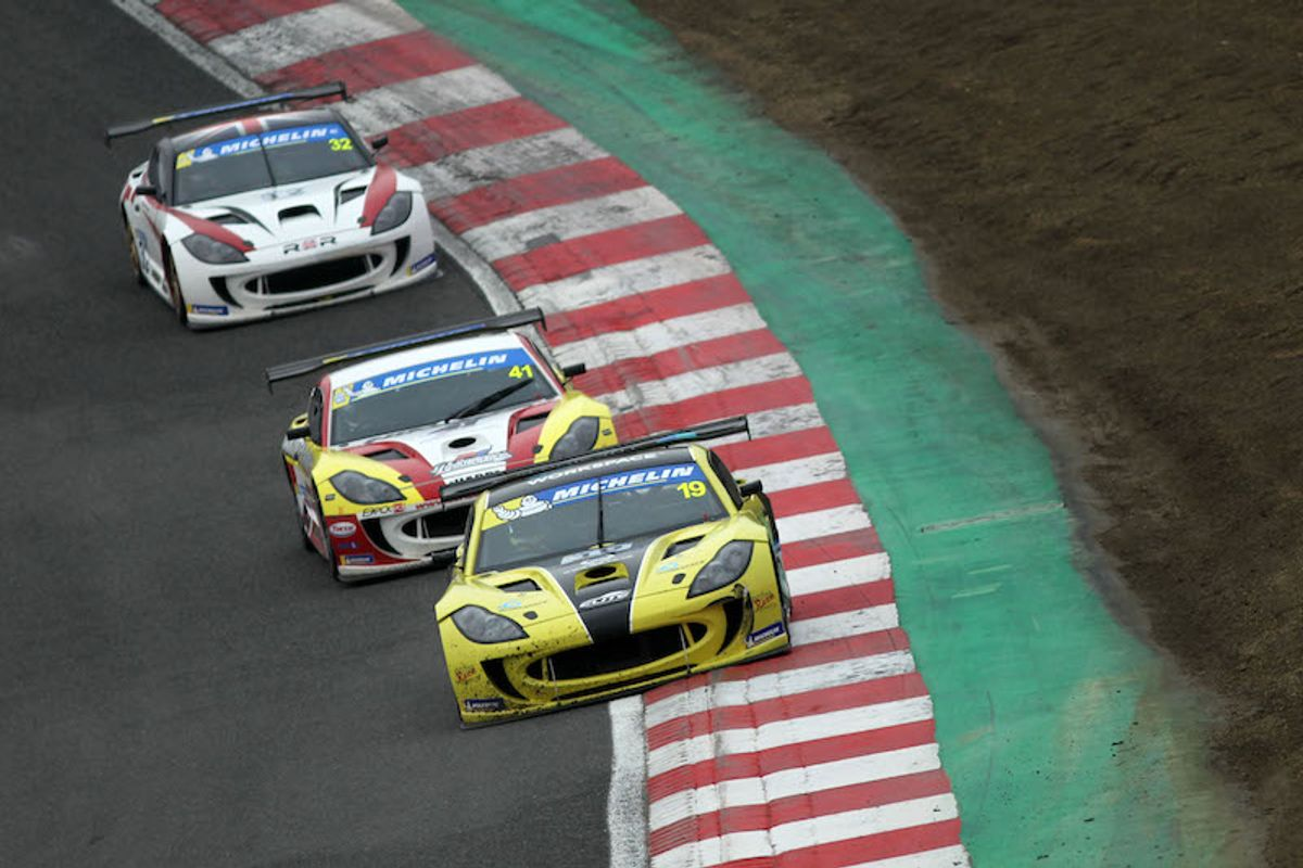 Double podium for Harry King on Ginetta Supercup debut