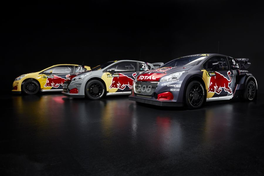 Team Peugeot debuts in WRX this weekend with Sebastien Loeb