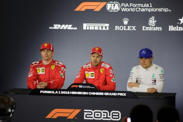 Chinese Grand Prix Qualifying Conference