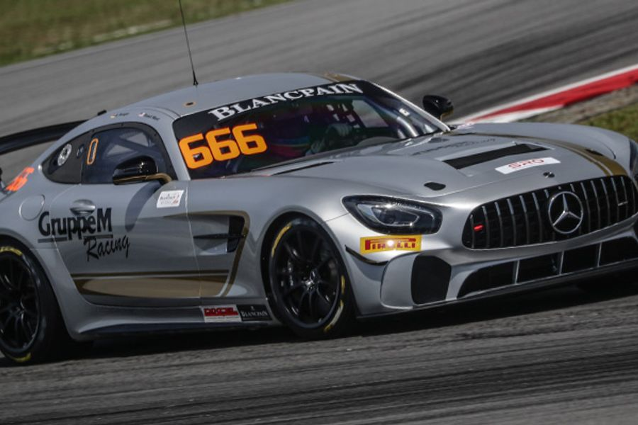 Lind, Burdon, Ward and Vannelet claim poles for Blancpain GT Asia Sepang season opener