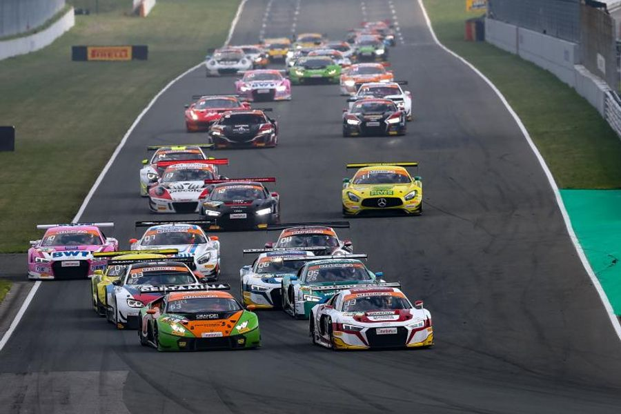 Audi drivers Hofer and Ellis win ADAC GT Masters  season opener