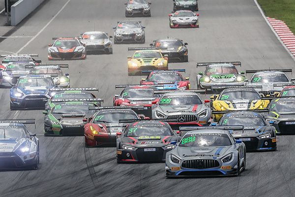 GruppeM's Bosi and Marciello seal Blancpain GT Asia Race 2 victory at Sepang