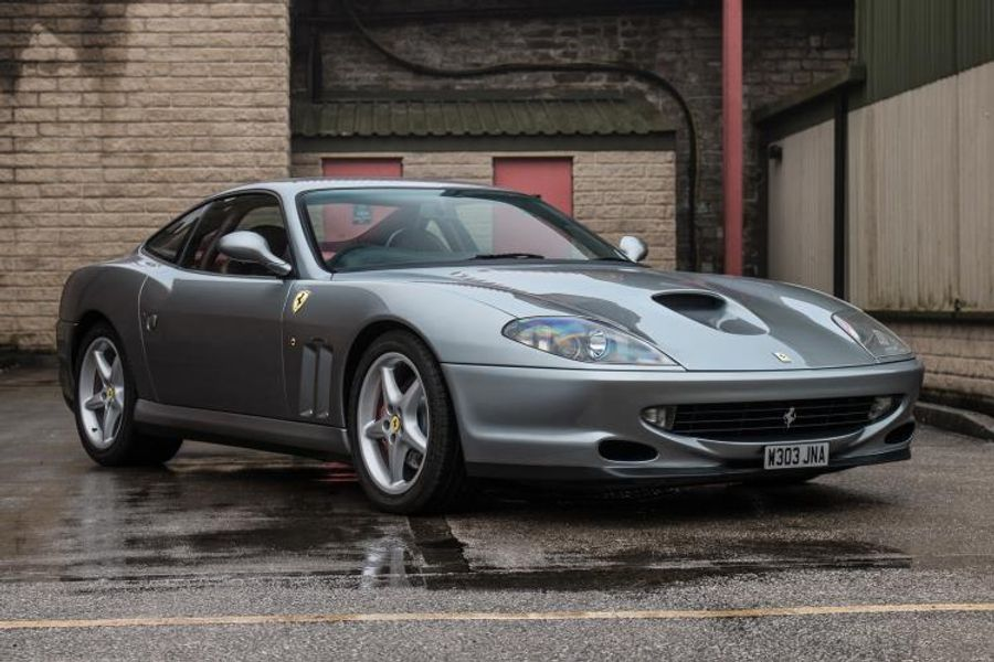 1 of only 10 RHD Ferrari 550 Maranello WSR editions, on offer at Silverstone Auctions