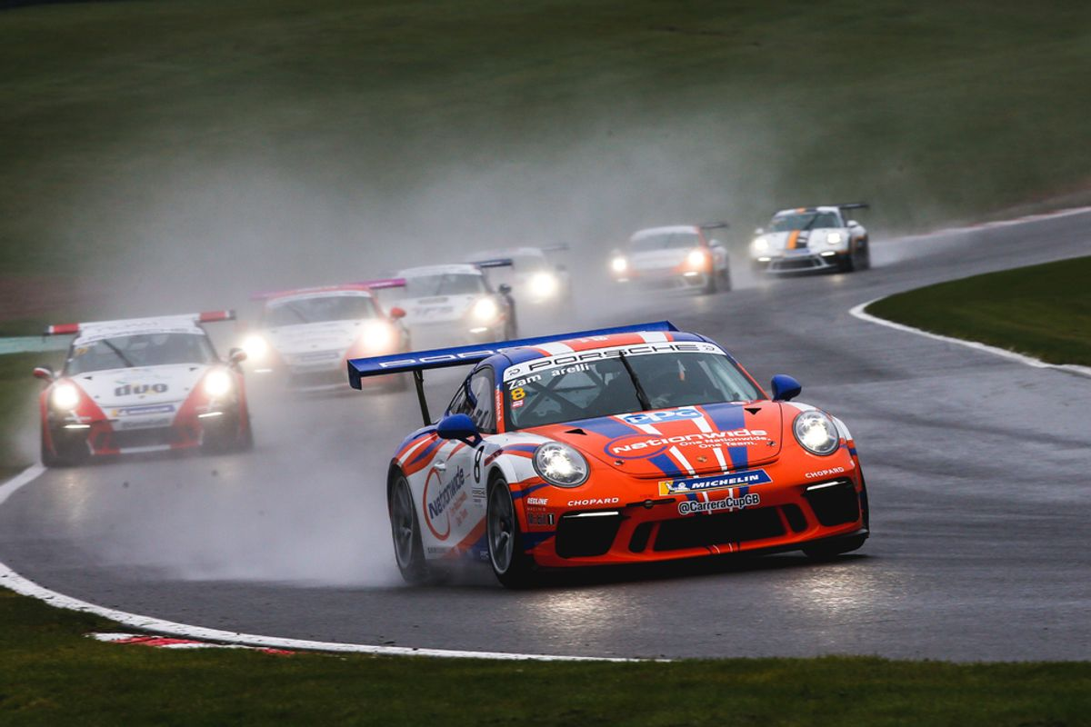 Porsche Carrera Cup GB promises more action and surprises at Donington Park