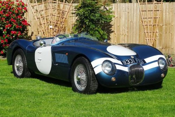 2015 Jaguar Realm C-Type Evocation an early entry in H&H Classics Motorsports Hall of Fame Auction
