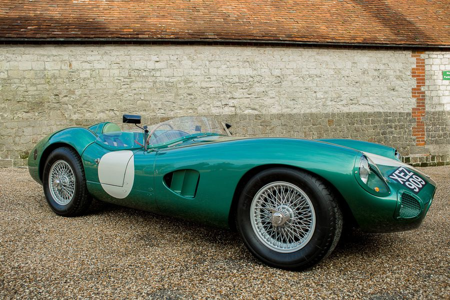 Rare recreation of 1950's Aston Martin racing legend the DBR1  at Silverstone Auctions May Sale