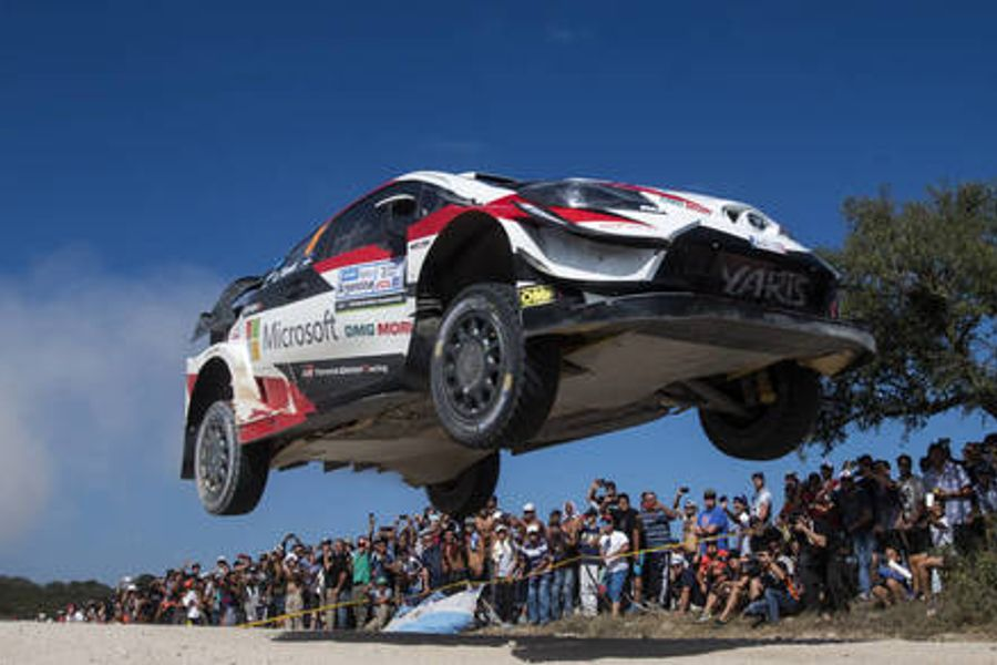 Tänak leaves rivals in the dust on Rally Argentina